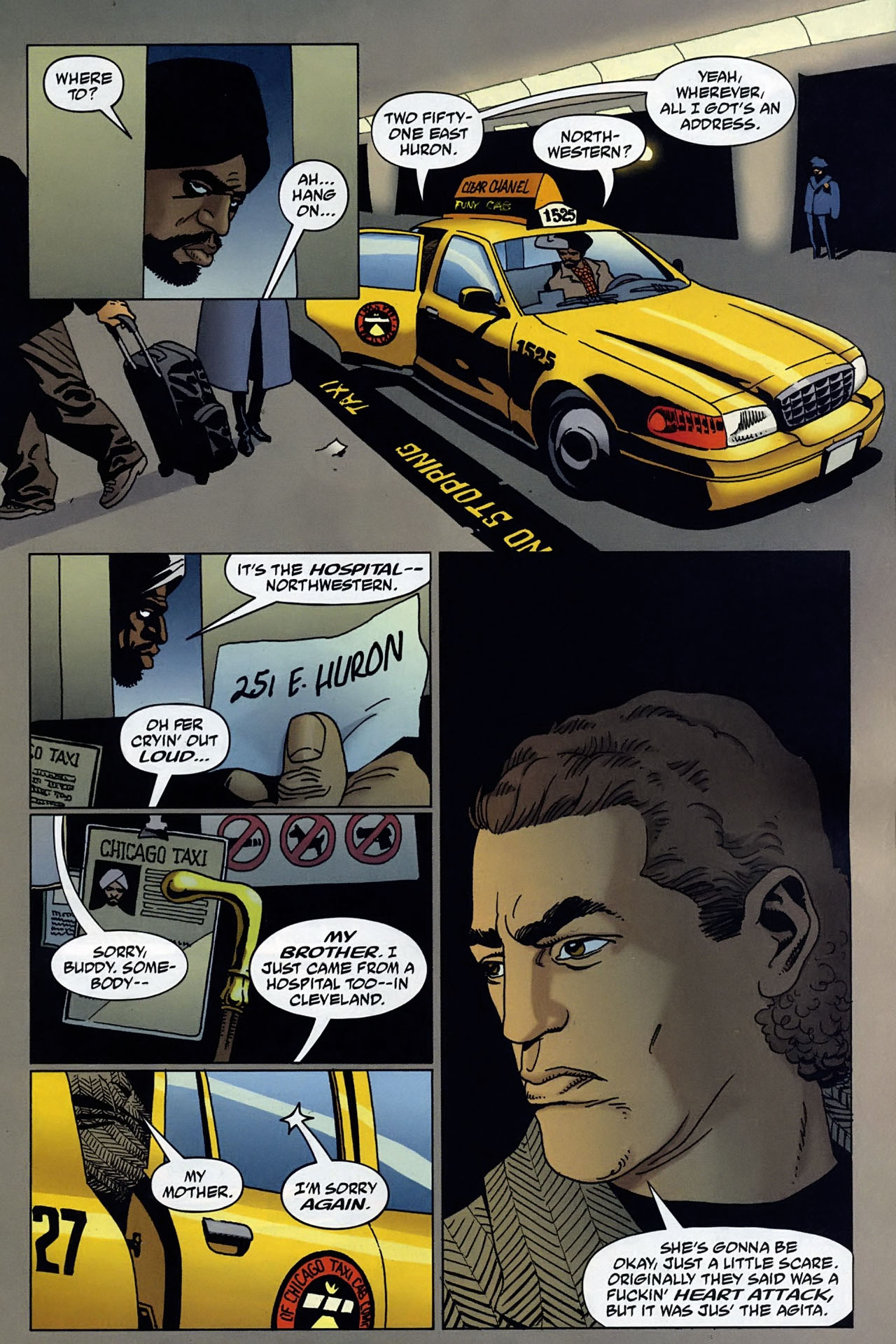 Read online 100 Bullets comic -  Issue #95 - 8