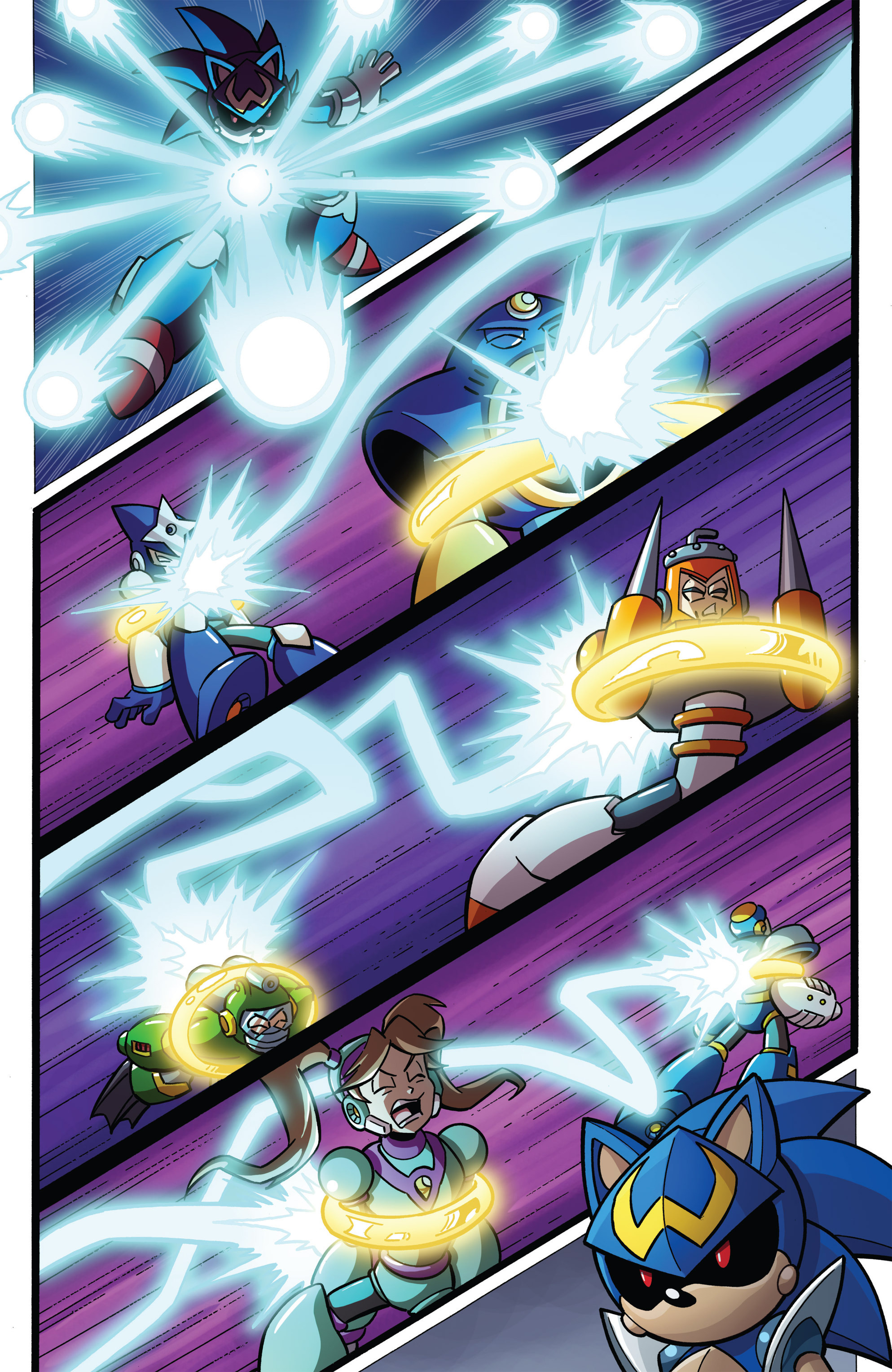 Read online Sonic The Hedgehog comic -  Issue #273 - 12