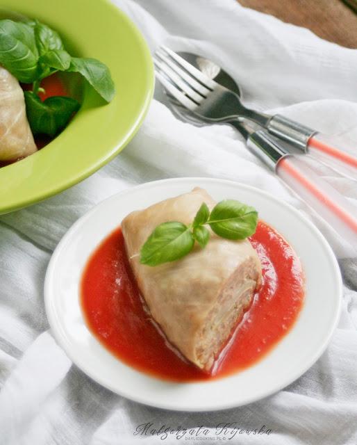 jak zrobić gołąbki, paella, obiad, daylicooking