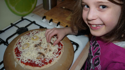 pizza, cooking with kids