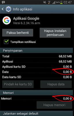 hapus data dalam aplikasi android