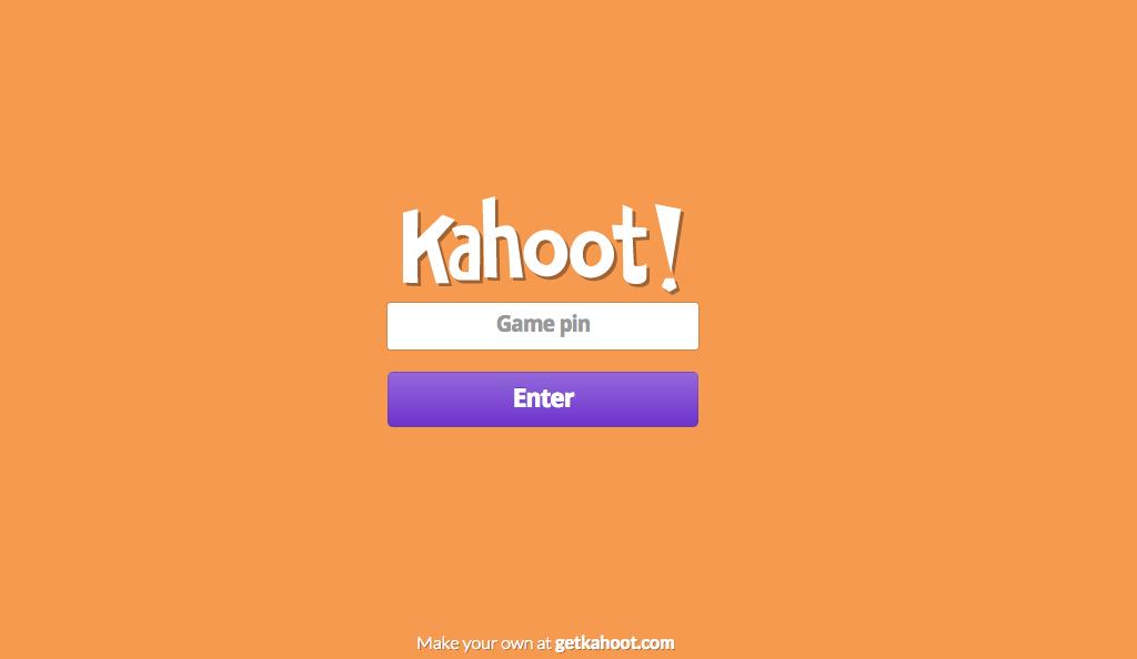 Schoolhouse Talk!: Kahoot!