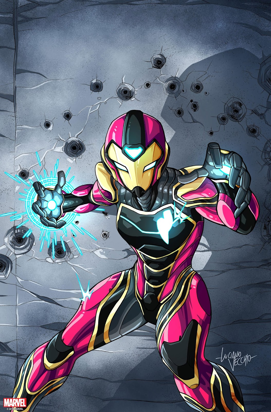 marvel IRONHEART Series