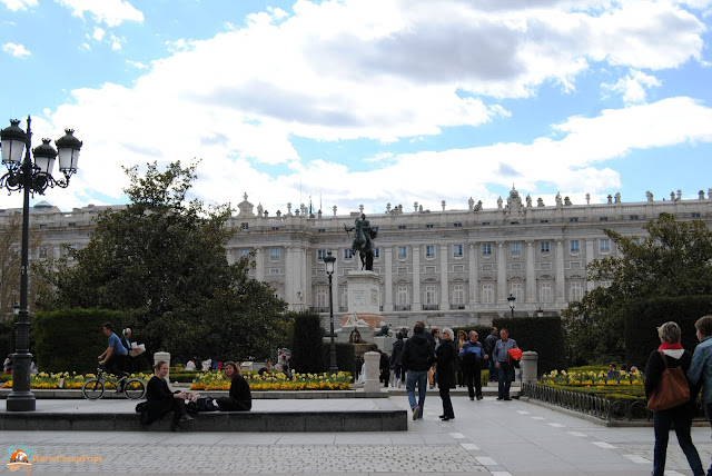 Plaza de Oriente, Madrid, cosa vedere a madrid, itinerario a madrid, due giorni a Madrid, blogger madrid