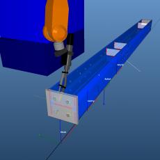 Моделирование процесса сварки стальной балки