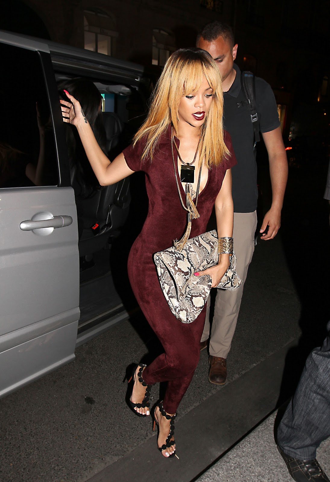 Rolls Royce Miami >> Rihanna - Skin Tight Bodysuit | Just FAB Celebs