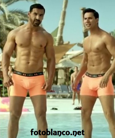 John Abraham & Varun Dhawan in Dishoom
