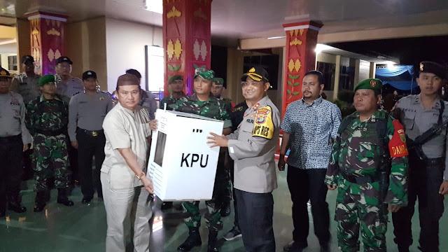 Dokumen Hasil Pleno KPUD Lambar Bergeser ke Provinsi