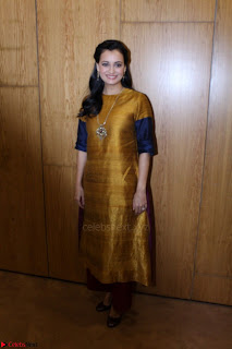 Dia Mirza Attends Power Women Seminar To Celete Womens Day 049.JPG