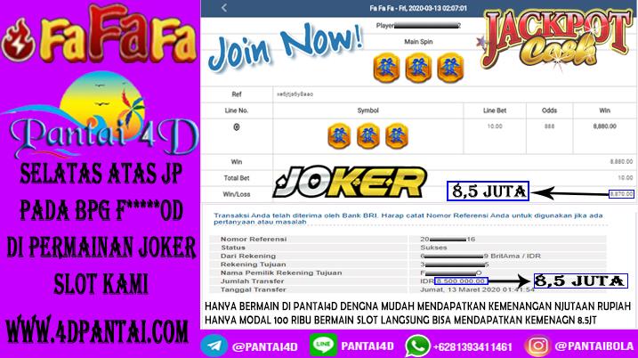 JACKPOT FA FA FA JOKER SLOT!!!!
