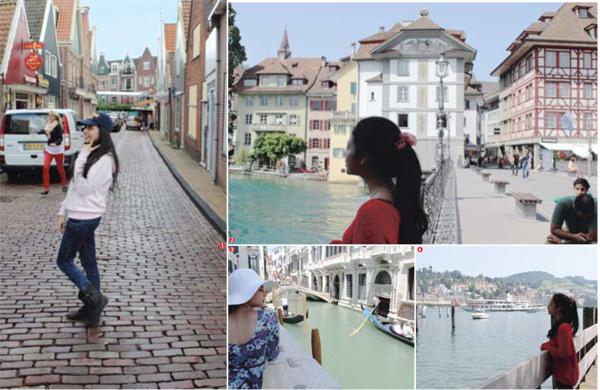 1 wisata di Amsterdam 2,4 Wisata di swis 3 wisata di Venice