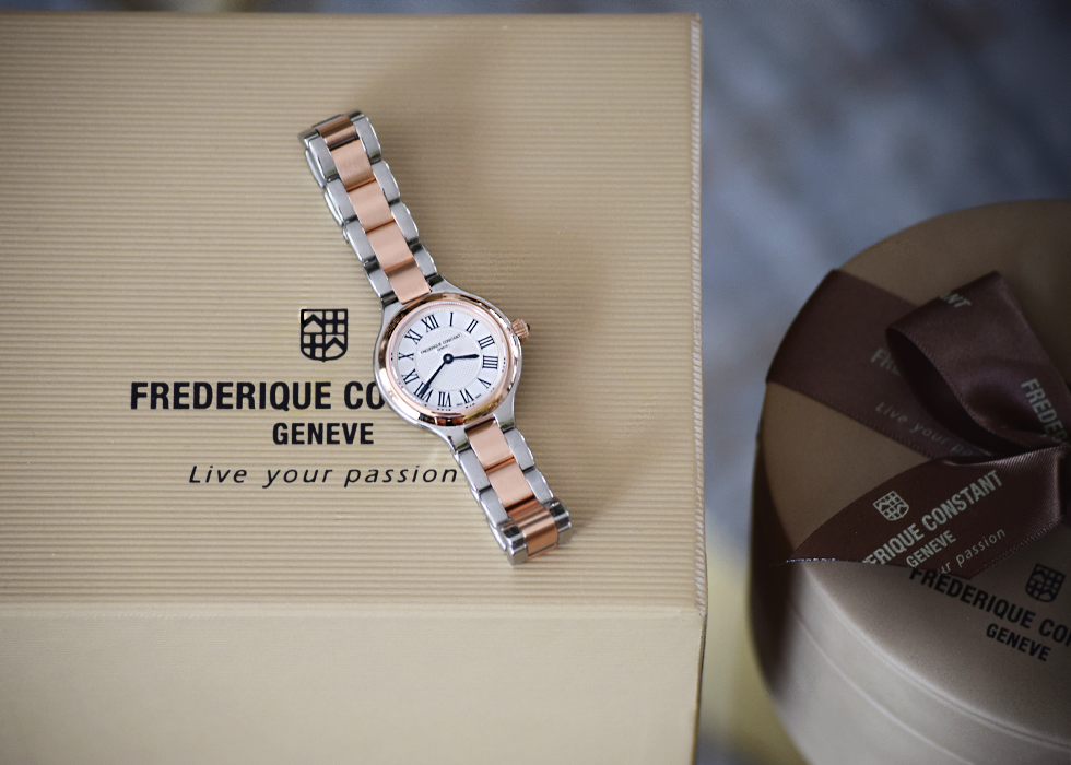 New In, Frederique Constant, watch, FC-200M1ER32B, Ladies, Delight, horloge