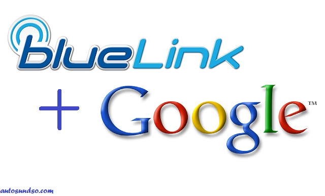 Google Maps im Hyundai Blue Link