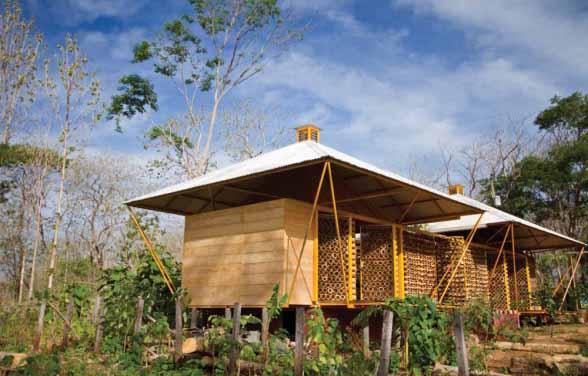 Desain Rumah Bambu Modern Ramah Lingkungan