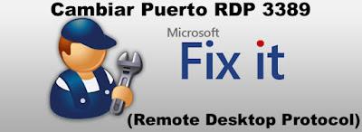 Cambiar el puerto RDP (Remote Desktop Protocol) 3389