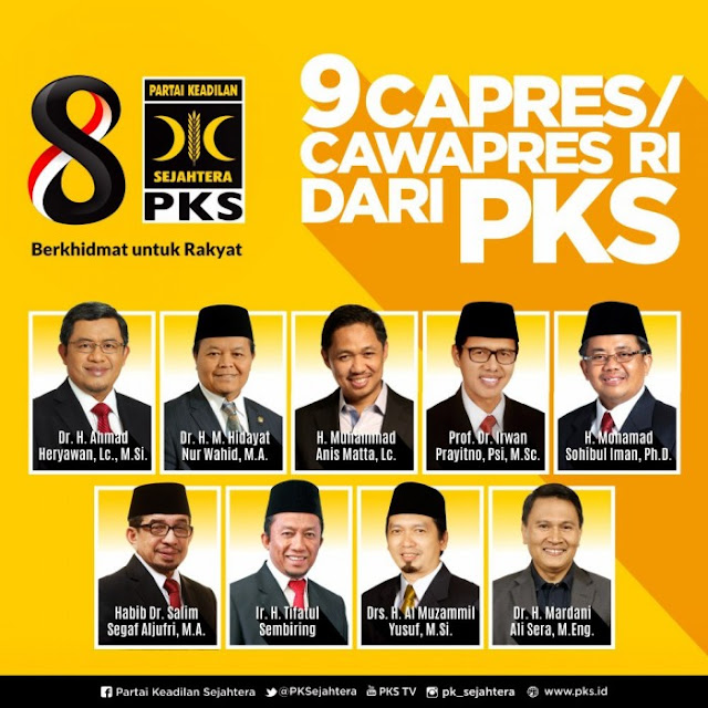 Ini Dia Kandidat Cawapres Terkuat Dari PKS