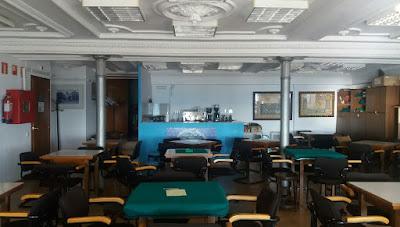 Foto actual de una sala de la sede del Coro de Marina