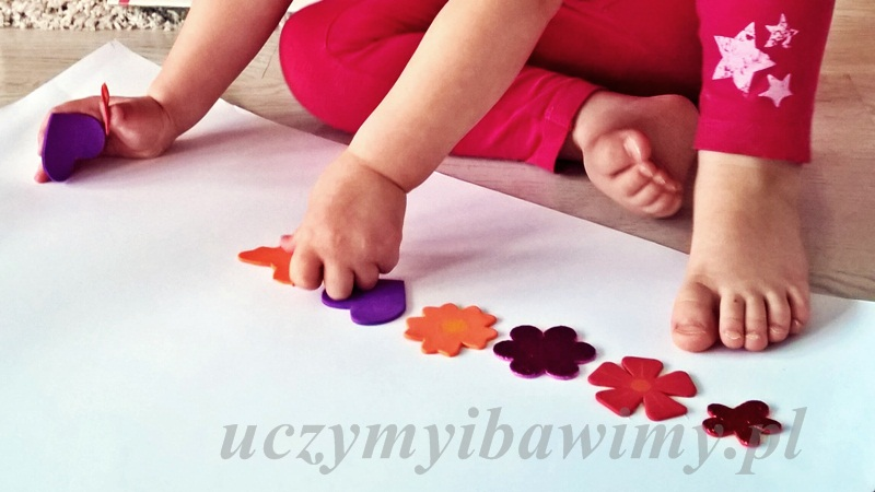 Zabawy z dzieckiem - szeregi