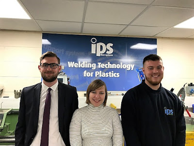 IPS Strengthens Its team, whilst committing to the future, with three New 'Aprentices'