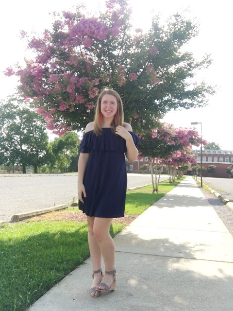 Navy Dress for the 4th