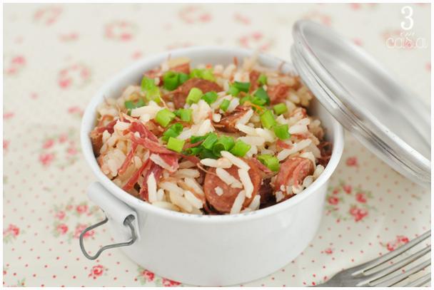 arroz receita