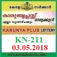 KARUNYA PLUS KN-211 LOTTERY RESULT