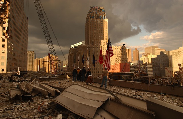Ground Zero, Public Domain  Courtesy of https://pixabay.com/en/ground-zero-world-trade-center-63035/