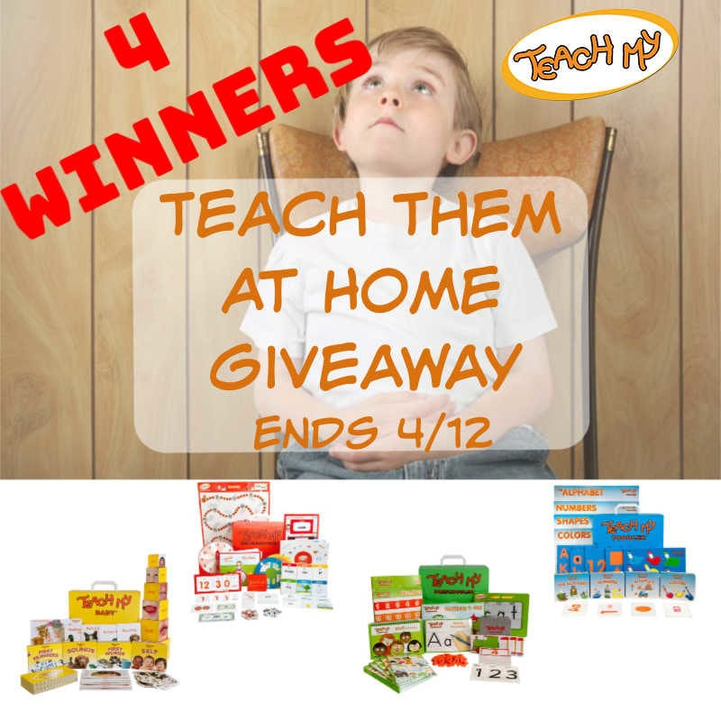 Teach Them At Home Giveaway