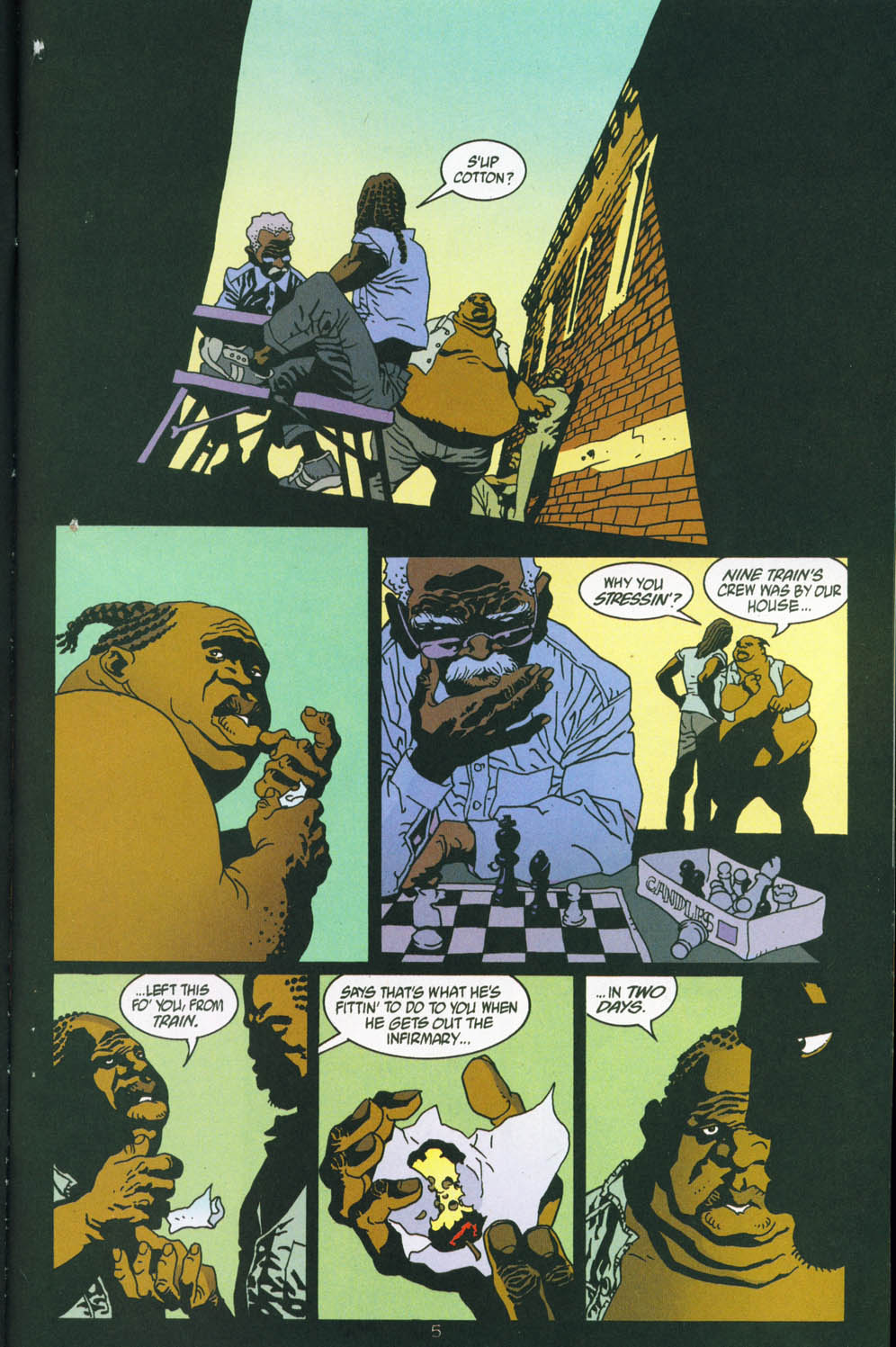 Read online 100 Bullets comic -  Issue #45 - 7