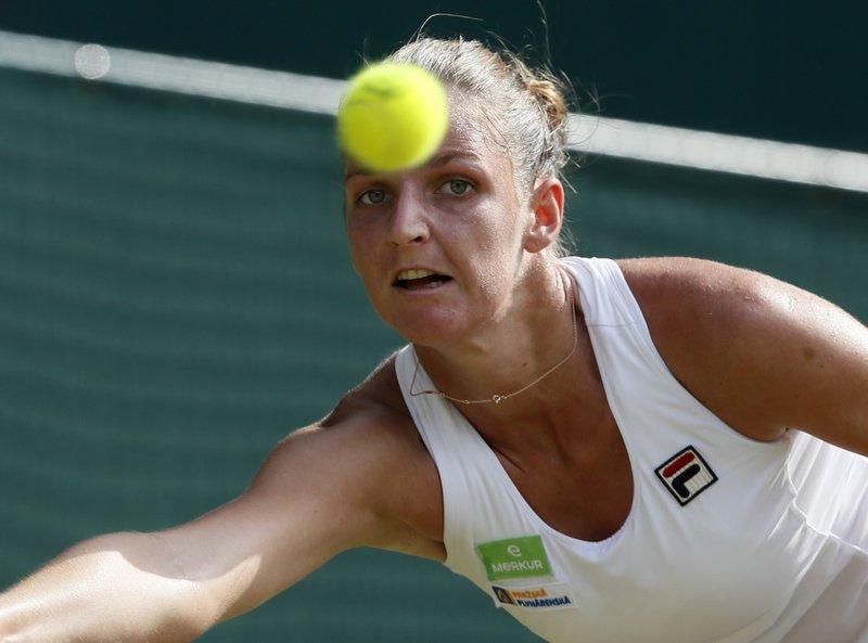 Magdalena Rybarikova Upset No.3 seed Karolina Pliskova 3-6, 7-5, 6-2  to reach 3rd Round at Wimbledon