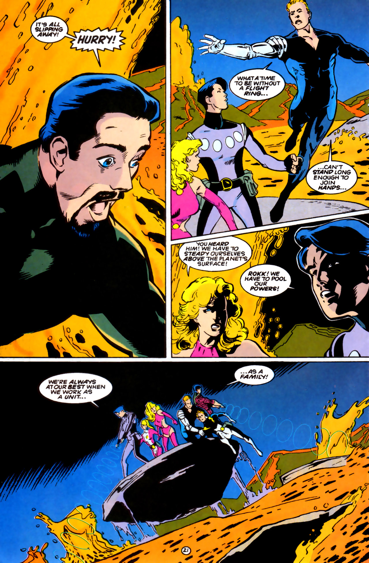 Legion of Super-Heroes (1989) 61 Page 20