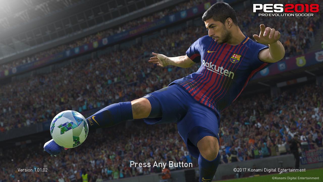 PES 2018 FCB Suarez Startscreen by ABW