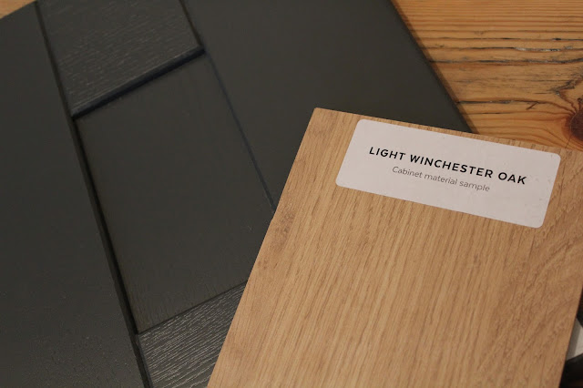 Light Winchester Oak with Graphite DIY-Kitchens