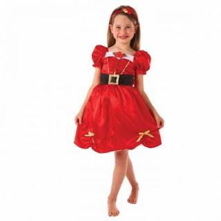 Costum rochie Craciunita fete 6-8 ani cumpara de aici