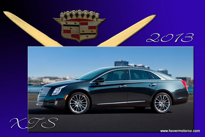 Hover Motor Company Cadillac Introduces The 2013 Xts As We Look