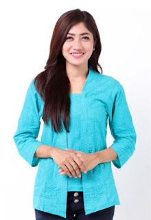 model baju batik kerja kutu baru