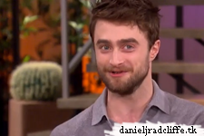 Daniel Radcliffe on The Talk