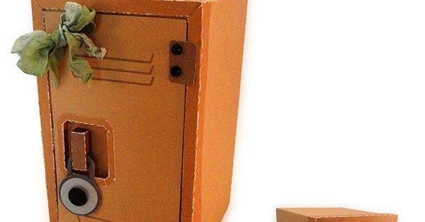 Needles N Knowledge School Locker 3d Box Tutorial