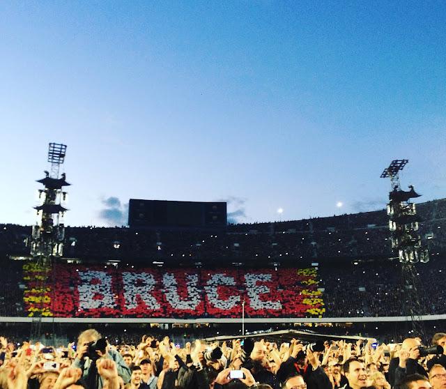 Bruce Springsteen Camp Nou Barelona May 2016