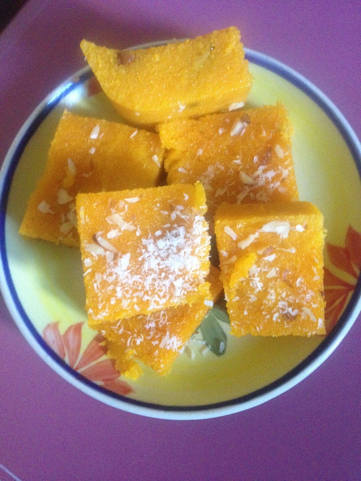 Mauritian and fusion cuisine semolina pudding - Mauritian cuisine 100 easy recipes ...