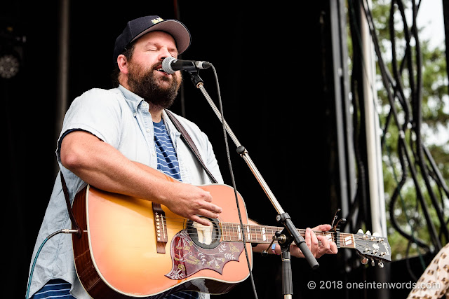 Donovan Woods at Riverfest Elora 2018 at Bissell Park on August 18, 2018 Photo by John Ordean at One In Ten Words oneintenwords.com toronto indie alternative live music blog concert photography pictures photos