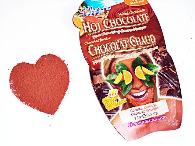 czekoladowa maseczka