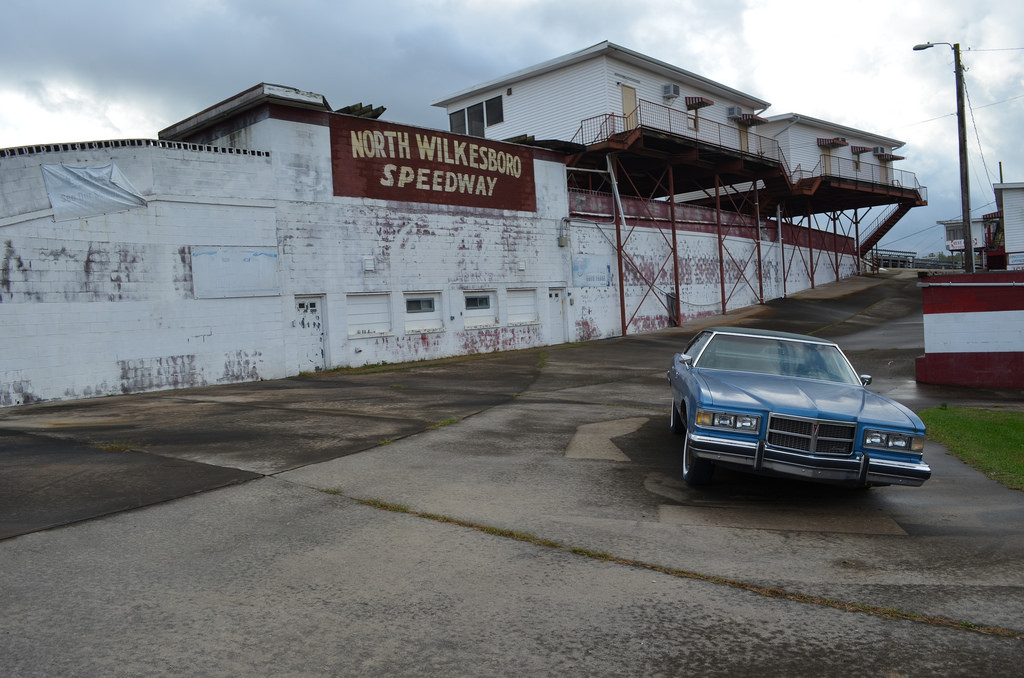 Deserted Places: The deserted North Wilkesboro Speedway