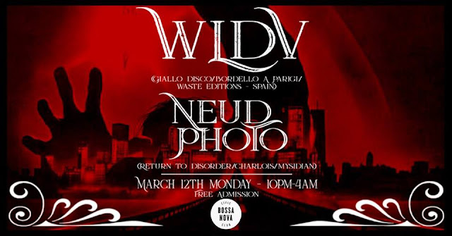 WLDV + NEUD PHOTO / Bossa Nova, Brooklyn [12Mar2018]