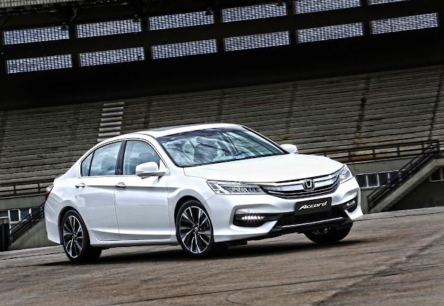 Honda exibe sedã Accord no Salão do Automóvel de São Paulo