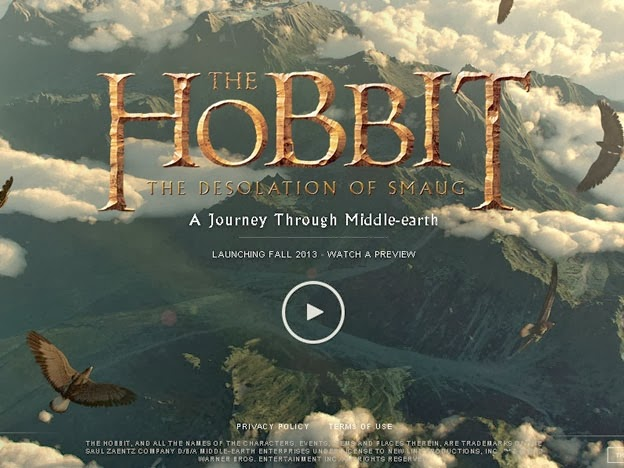 The Hobbit: Aplicación de Google Chrome sumerge a los usuarios a recorrer la Tierra Media