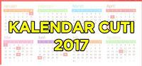 Daftar Lengkap Hari Libur Nasional dan Cuti Bersama 2017
