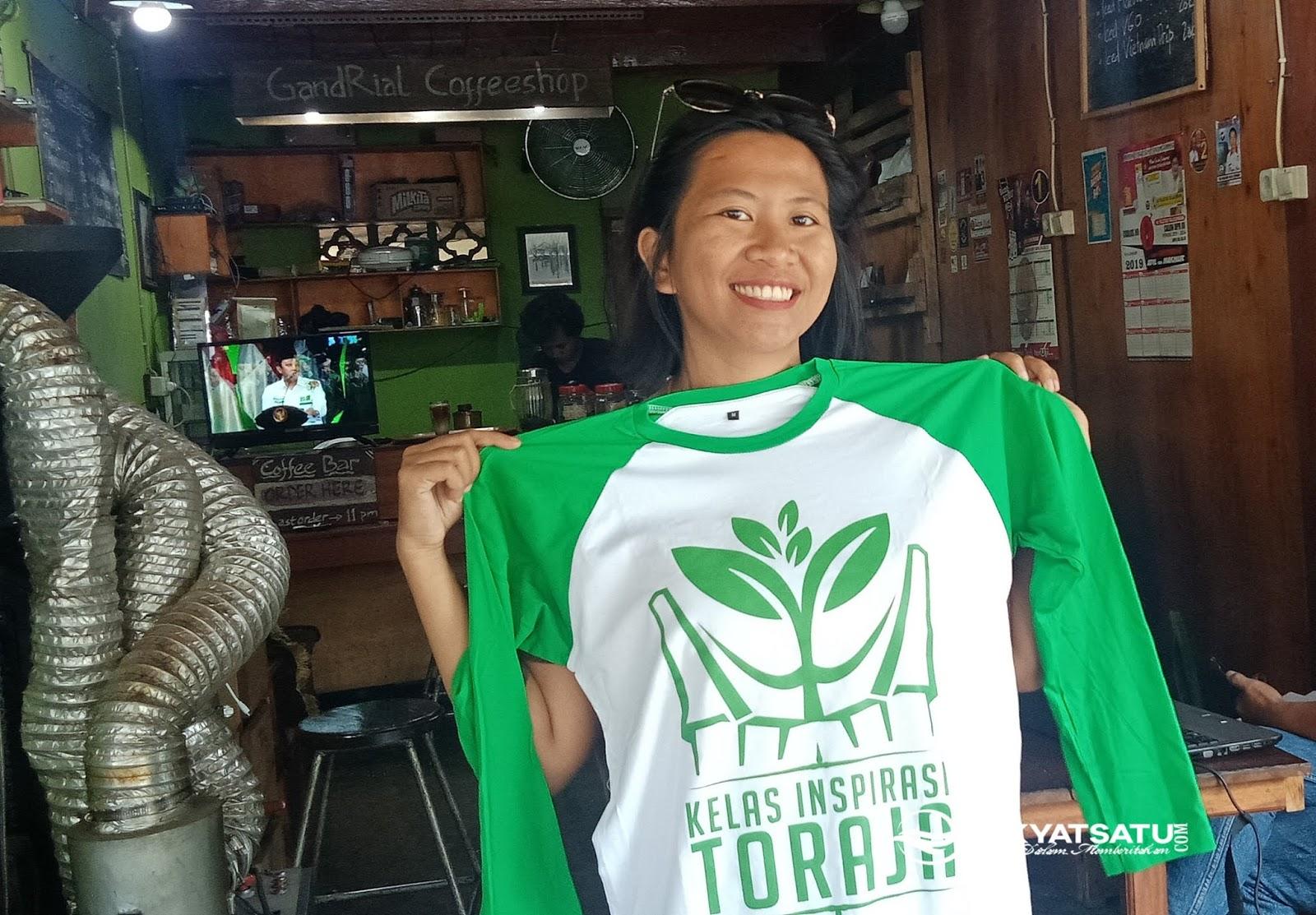 Yuk, Donasi Kelas Inspirasi Tana Toraja Lewat Kaos Keren untuk Zona Inspirasi Masanda