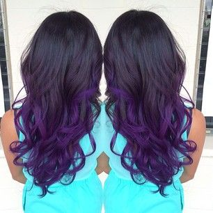 Groovy Gorgeous Purple Ombre Hairstyles Hairstyles For Women Draintrainus