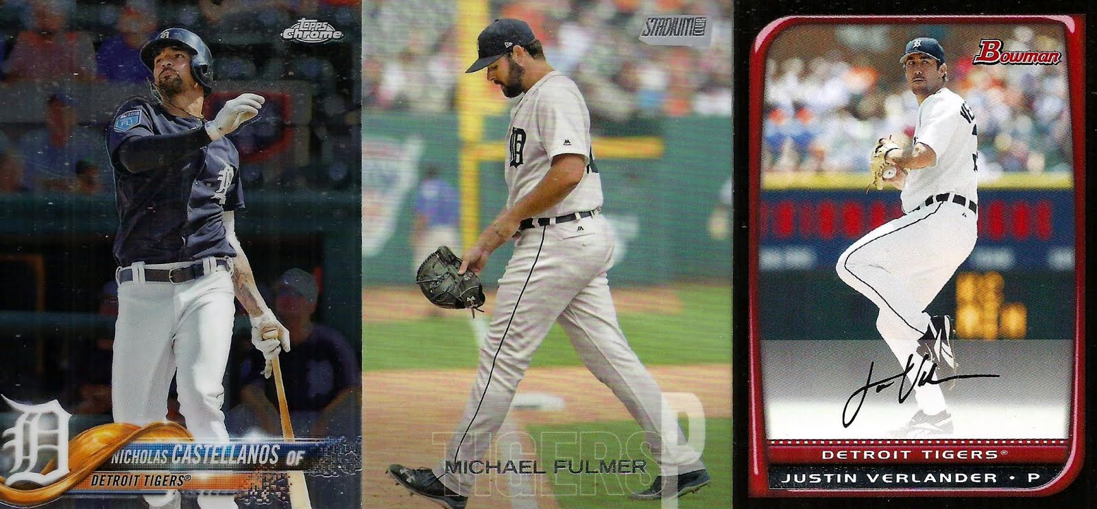 Too Many Verlanders 2019 Trade Package 2 Sports Cards From The